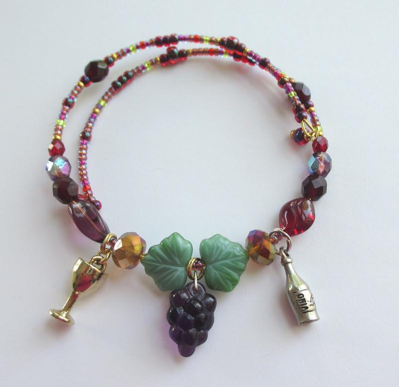 The Merlot Wine Bracelet