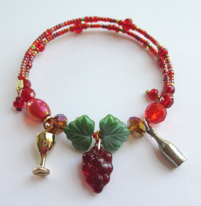The Shiraz Wine Bracelet