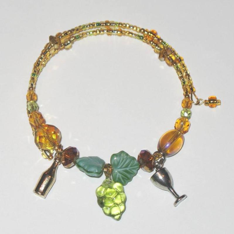 The Chardonnay Wine Bracelet
