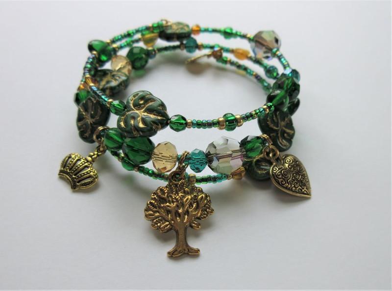 Ombra Mai Fu Bracelet inspired by the Handel opera Serse