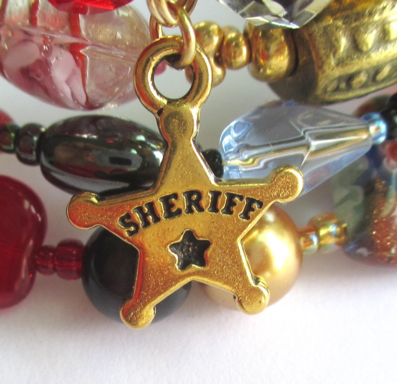 Sheriff Rance's star.