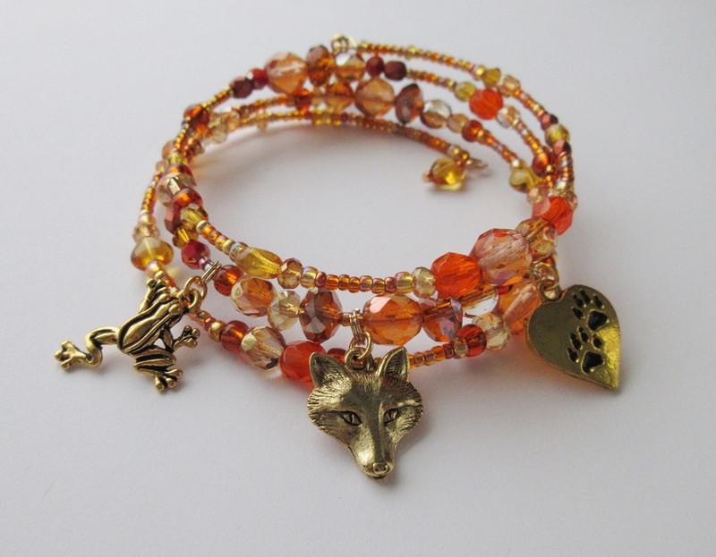 The Vixen Bracelet is inspired by... Janacek's The Cunning Little Vixen