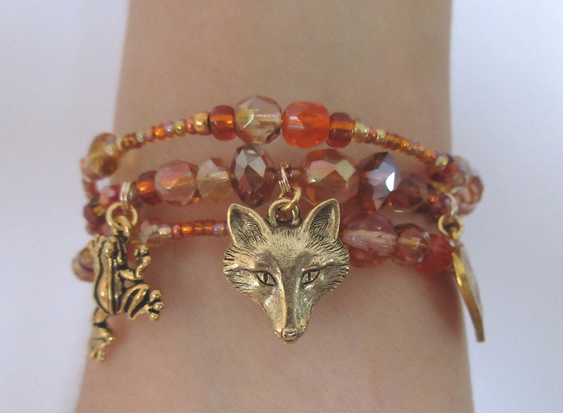 The Vixen Bracelet is inspired by... Janacek's The Cunning Little Vixen