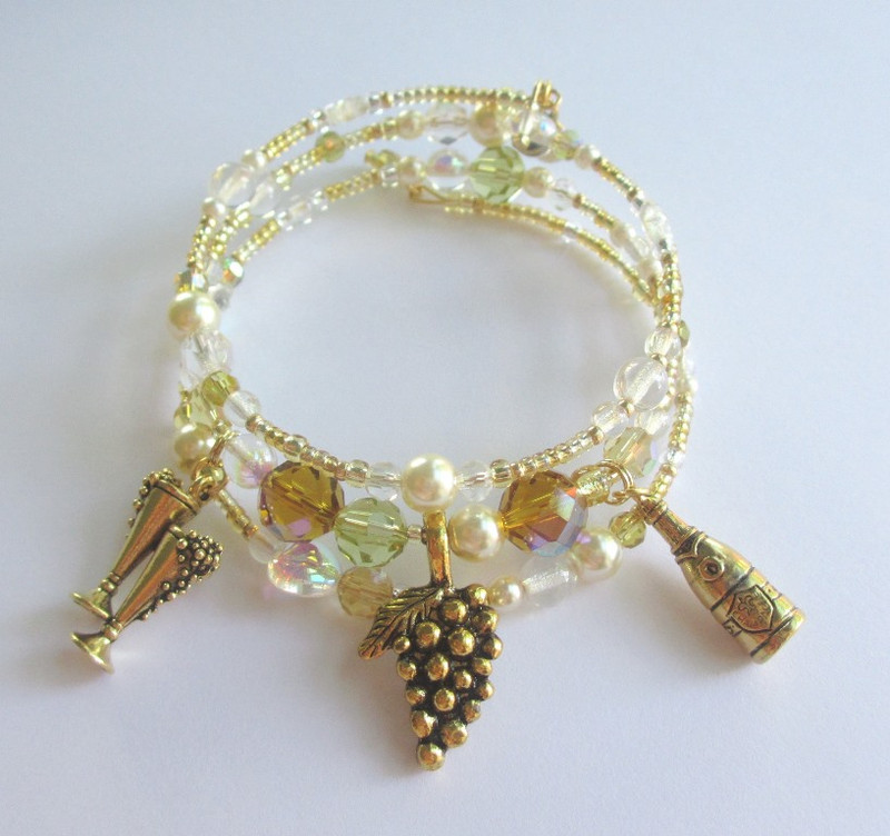 The Champagne Waltz Bracelet