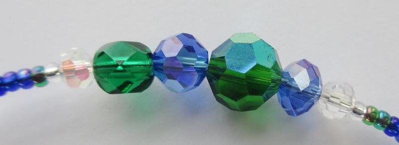 Bead detail of the Neverland Bracelet