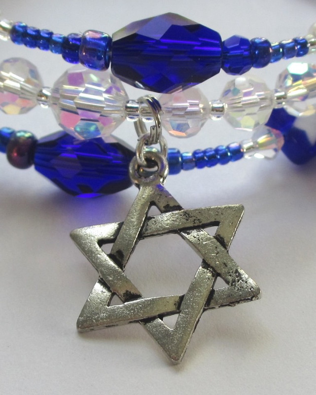 Festival of Lights Bracelet Detail: Star
