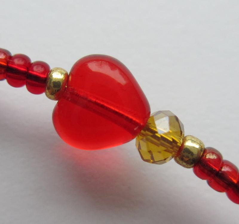 Glass hearts represent Rigoletto's love for his daughter.