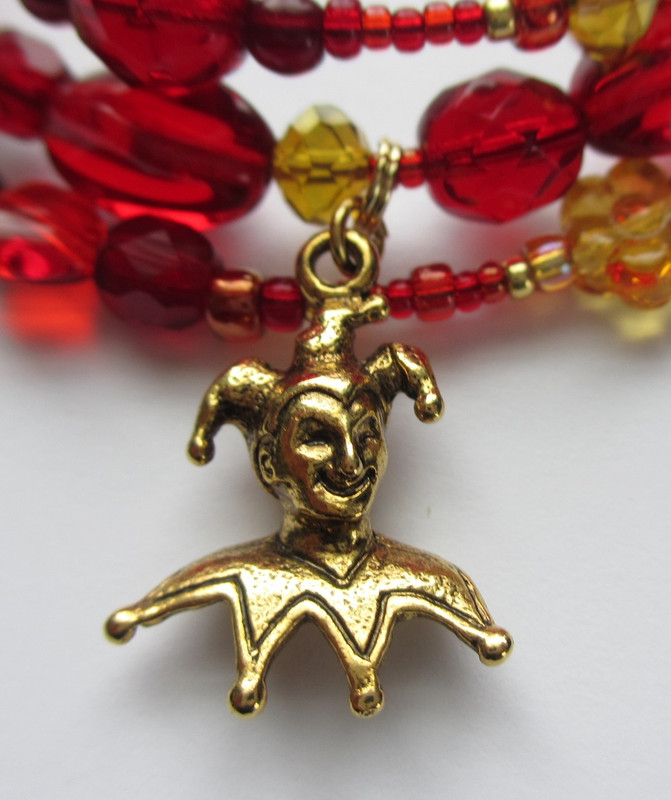 A jester charm is Rigoletto