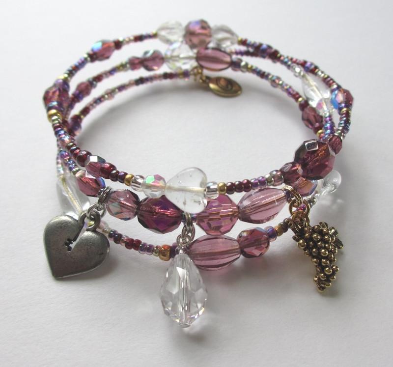 The Una Furtiva Lagrima Bracelet (A secret tear) inspired by Donizetti's Elixir of Love.