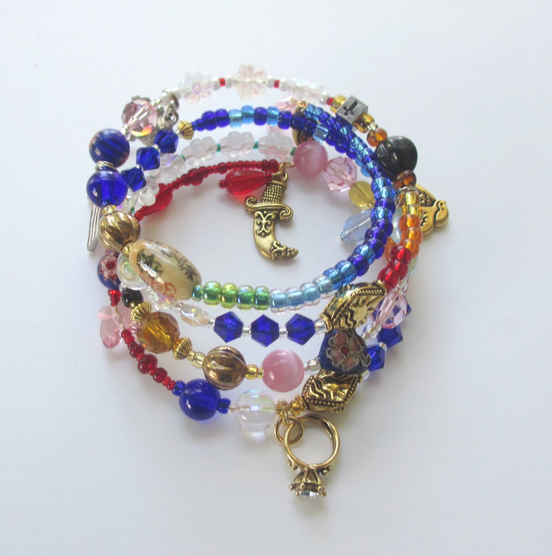 A view of the Madama Butterfly Bracelet.