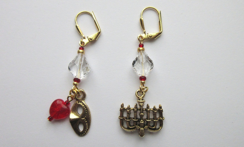 Phantom of the Opera Earrings