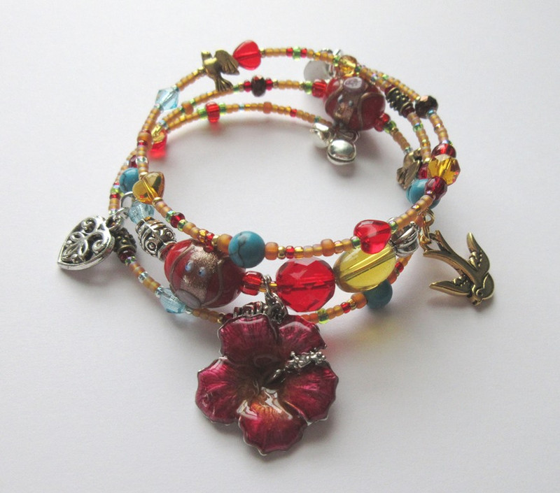 Inspired by Bizet's Carmen, the Habanera Bracelet
