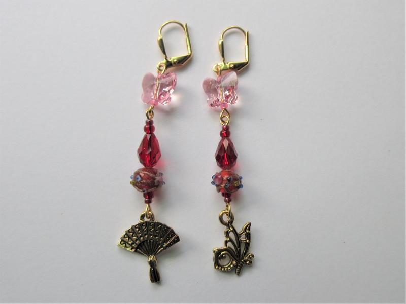 Madama Butterfly Earrings
