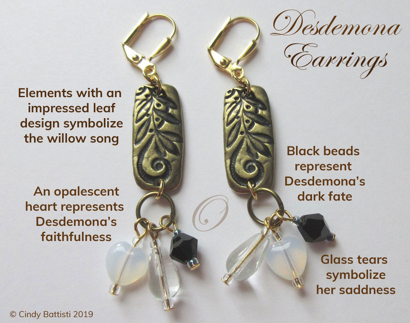 Desdemona Earrings