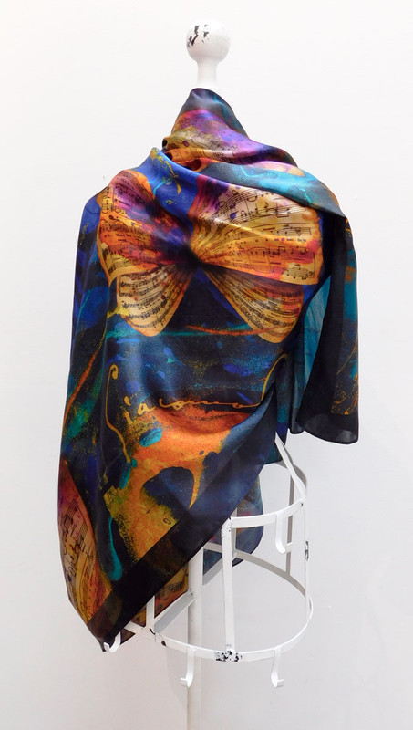 Madama Butterfly Scarf