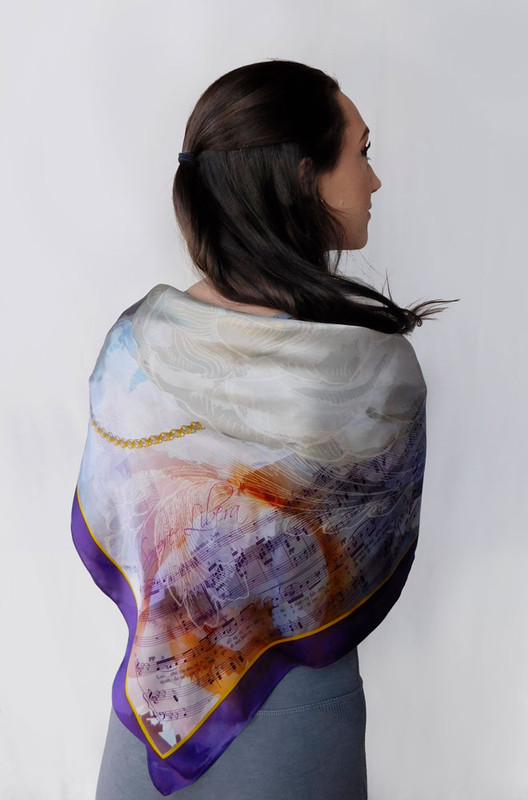 La Traviata Silk Scarf
