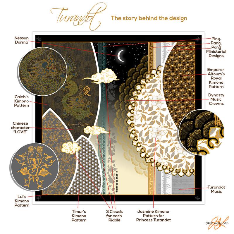 Turandot Silk Scarf