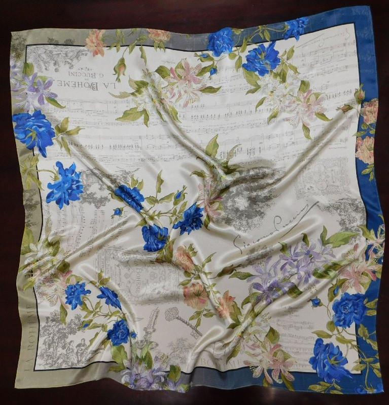 La Boheme Silk Scarf