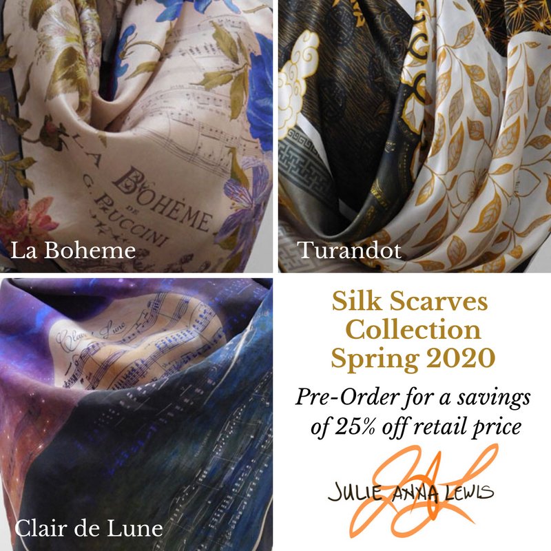 Spring Scarf Collection 2020