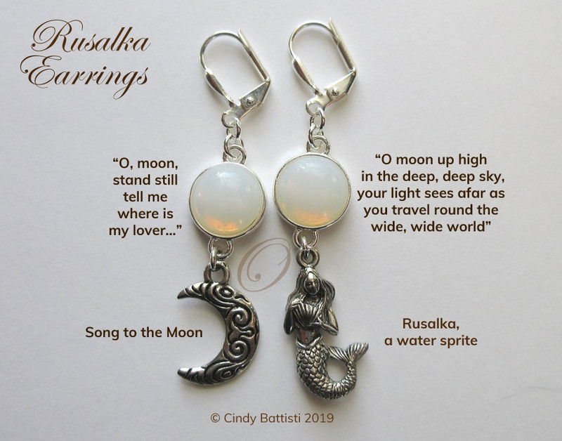 Rusalka Earrings