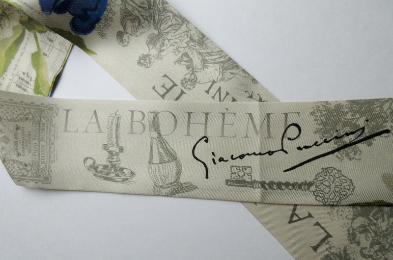 La Boheme Twilly Scarf