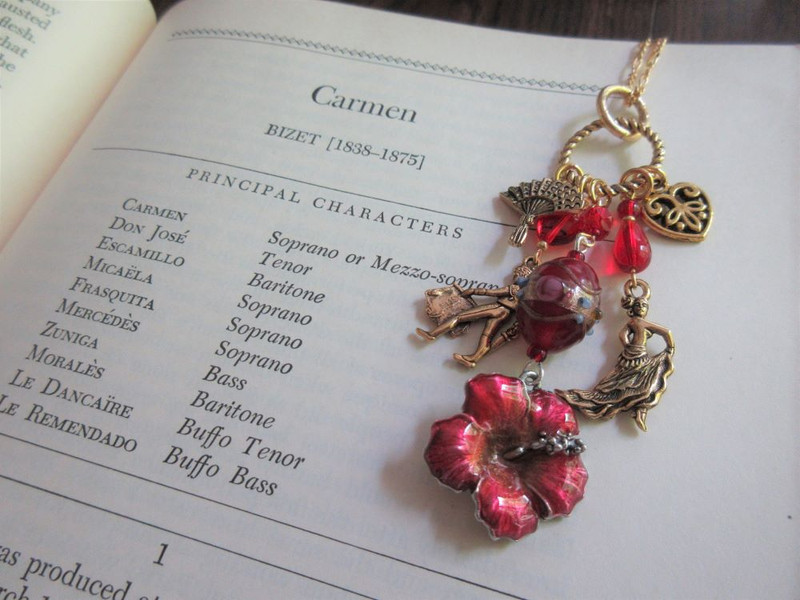 Carmen Opera Necklace
