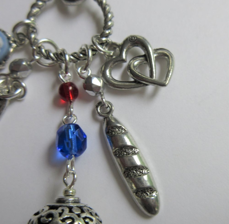 Les Miserables Necklace detail