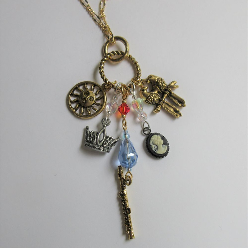 Magic Flute Opera Necklace