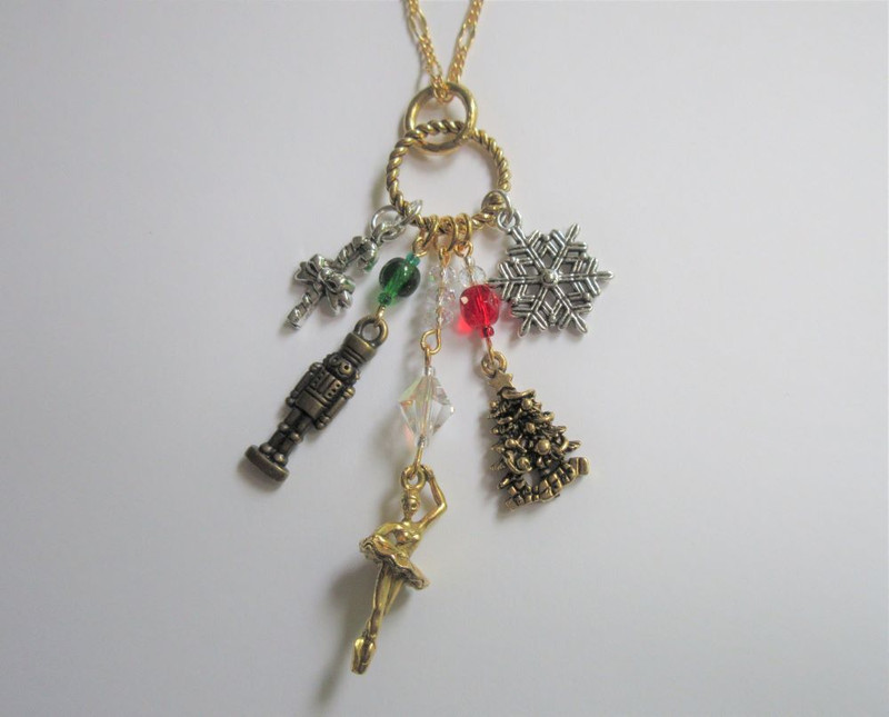 Nutcracker Ballet Necklace