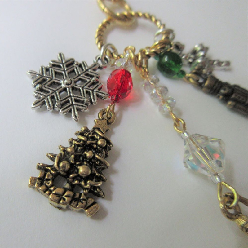 Nutcracker Ballet Necklace - detail