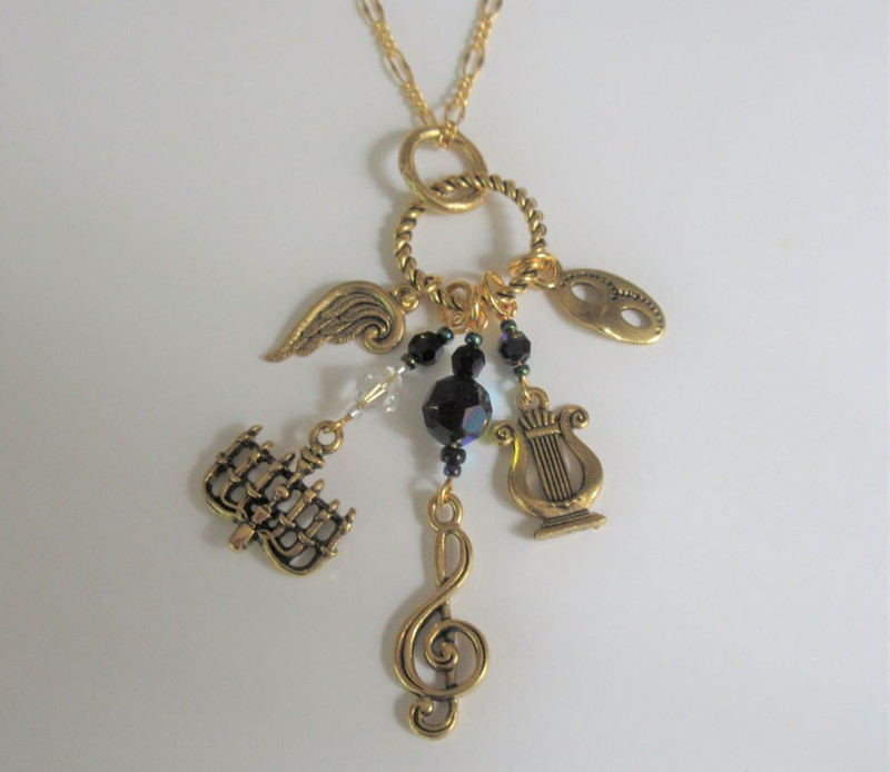 Phantom of the Opera Necklace
