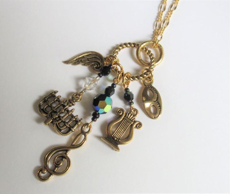 Phantom of the Opera Necklace