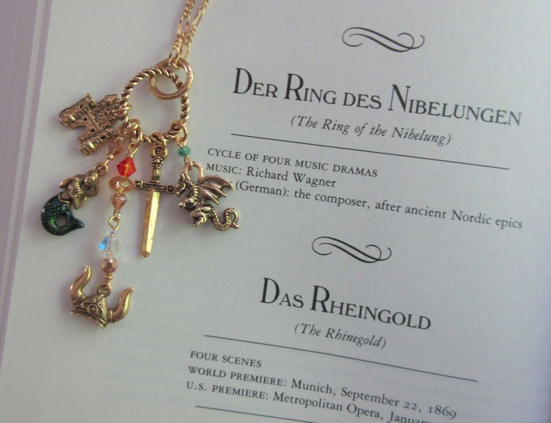 Wagner Ring Cycle Opera Necklace