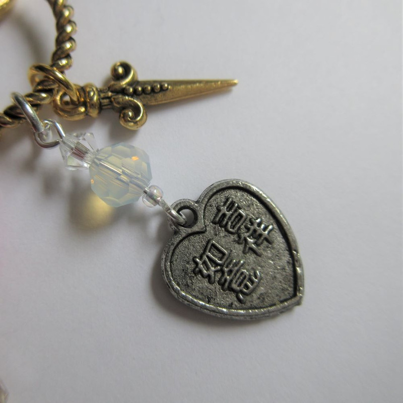 Turandot Opera Necklace detail