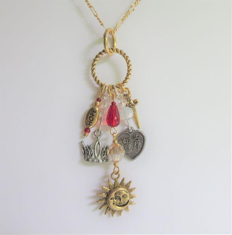 Turandot Opera Necklace (hanging up)