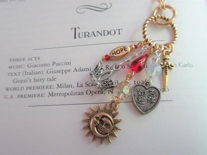 Turandot Opera Necklace