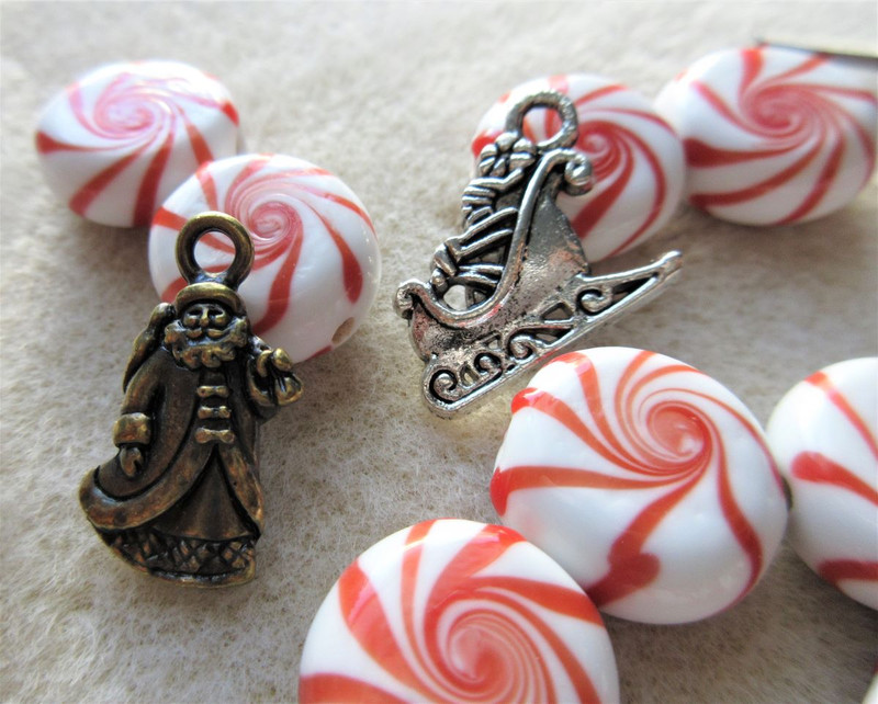 Saint Nick Earrings