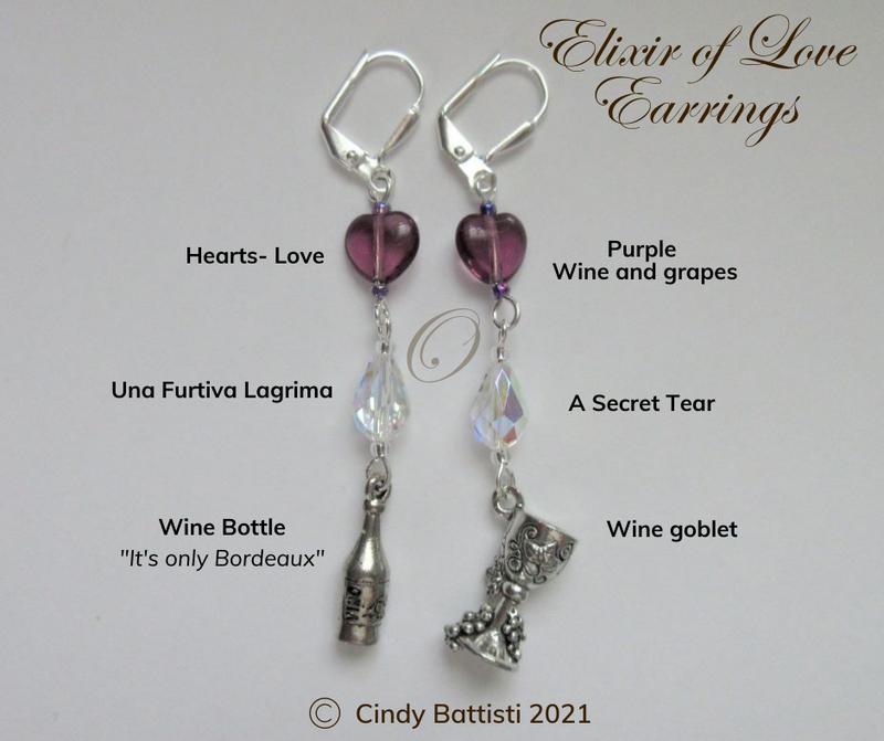 Elixir of Love Earrings