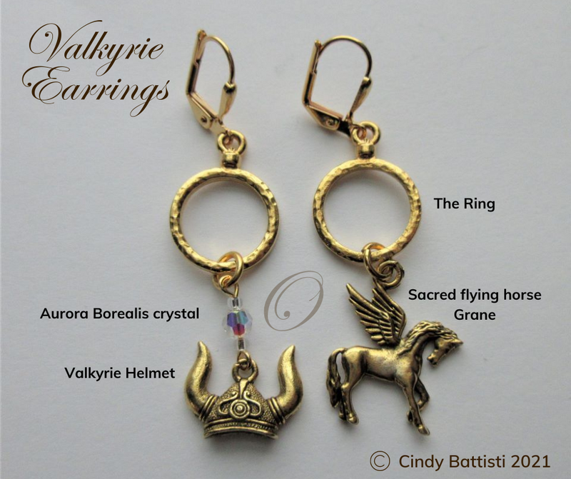 Ring Cycle Earring Set