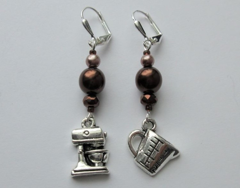 Chocolate Gateau Earrings