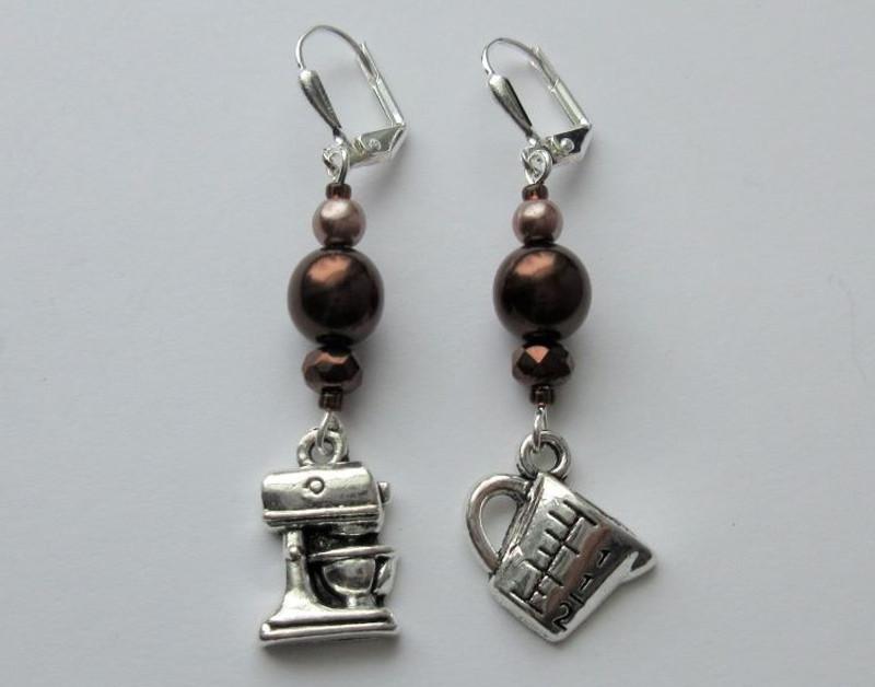 Chocolate Gateau Earrings