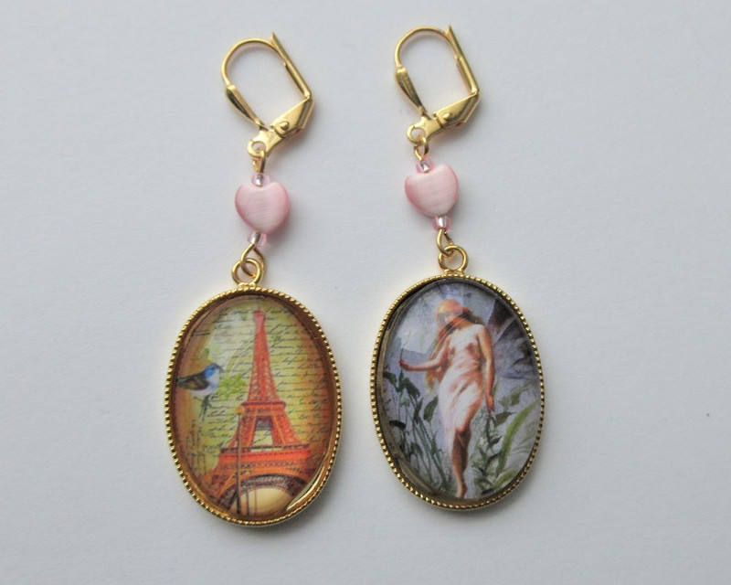 Merry Widow Earrings