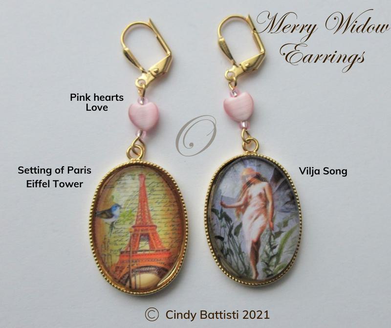 Merry Widow Earrings