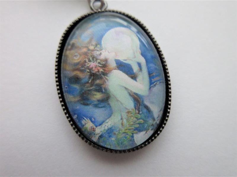 Rusalka Mermaid Necklace