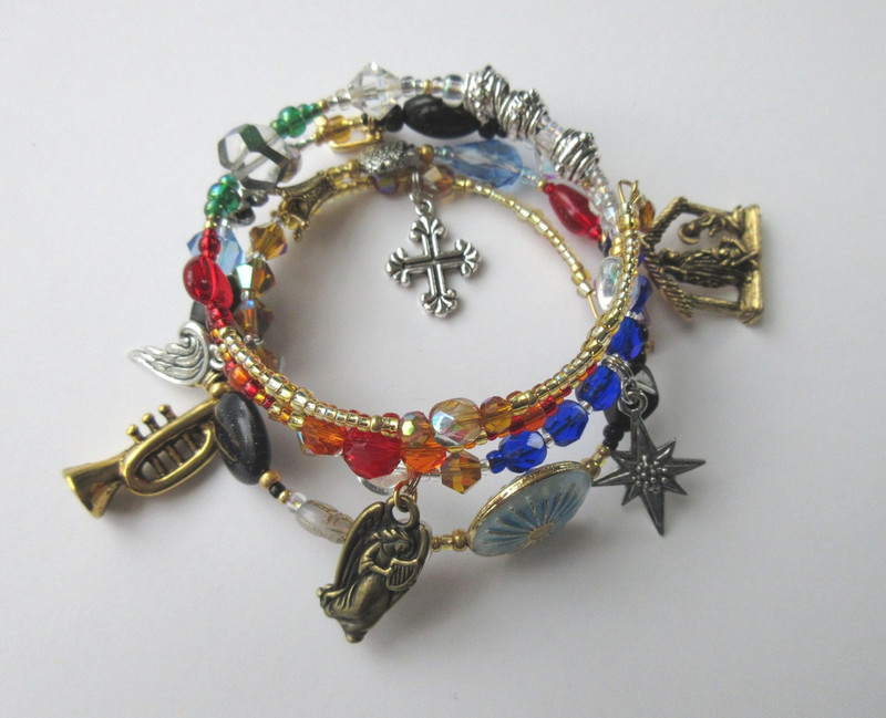 An alternate view of the Messiah Bracelet...