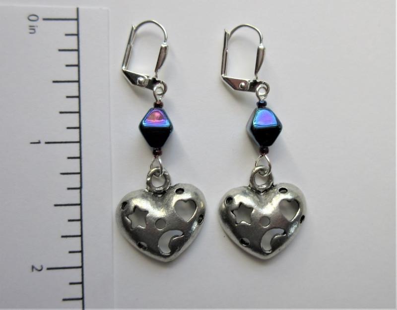Magical Heart Earrings