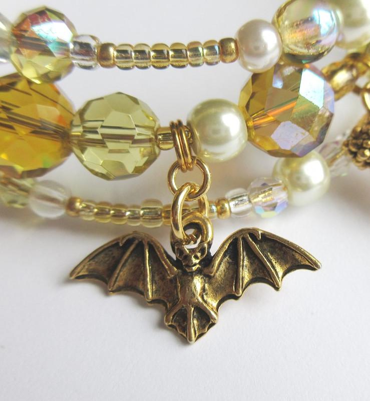 Bat and Bubbly detail: Bat.