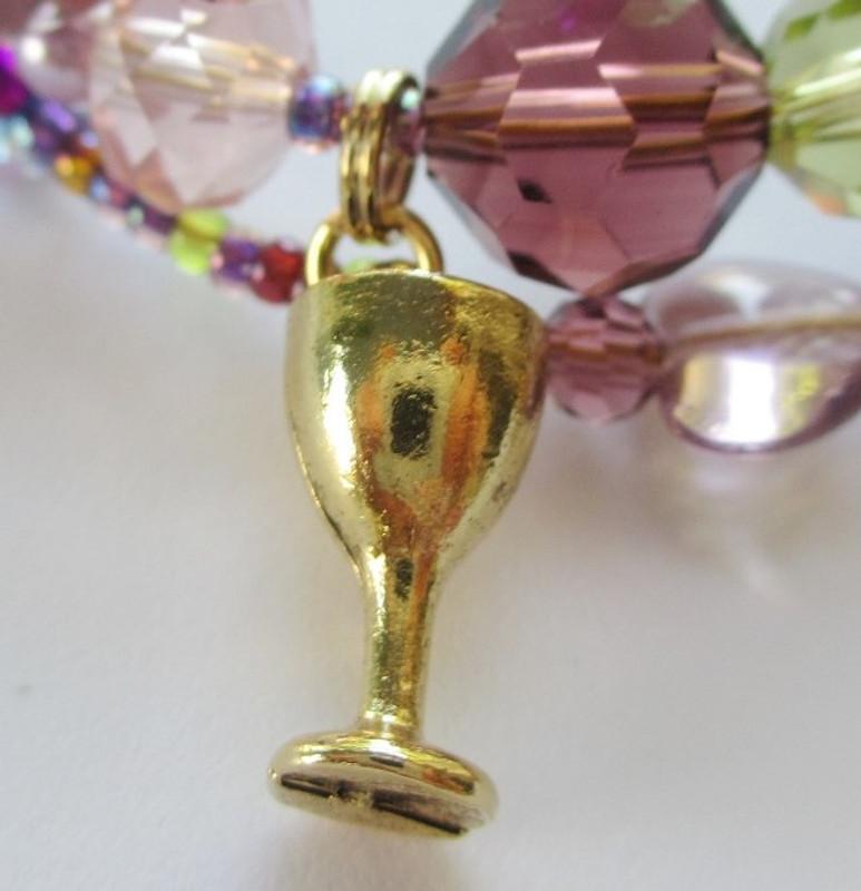Brindisi Bracelet detail: Goblet.