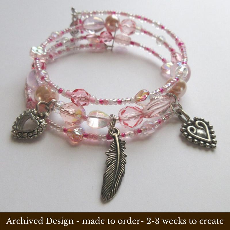 The words La Donna e Mobile inspire this bracelet celebrating the inevitable power of women's love.