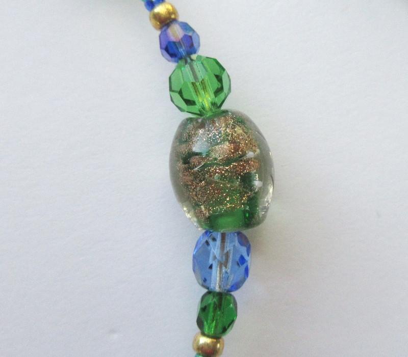 Bead detail of the Primordial Rhine Bracelet
